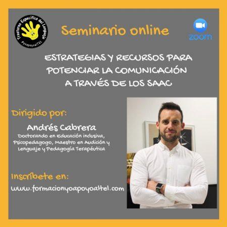 Seminario Estrategias y recursos para potenciar la comunicación a través de los SAAC