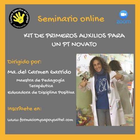 Seminario Kit de primeros auxilios para un PT novato